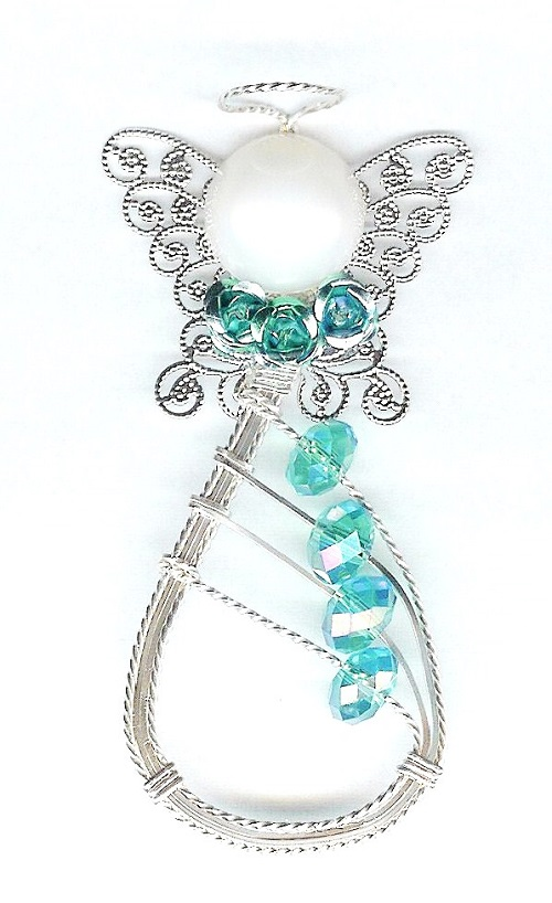 3 Lovely Wire Wrapped Angel JewelryTutorials - The Beading Gem\'s Journal