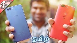 Honor View 10 vs OnePlus 5T – Full Comparison! | Tamil
