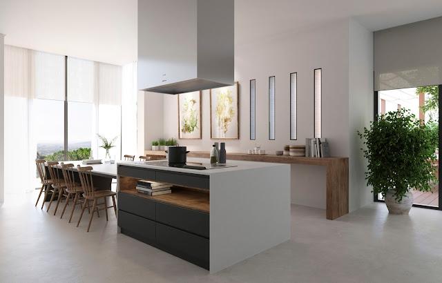 Decorar cocina ofice comedor con litografía Glauco Capozzoli