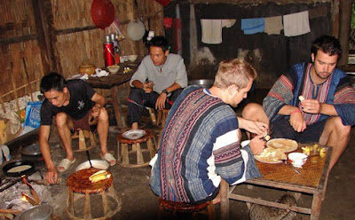 overnight at homestay in Sapa