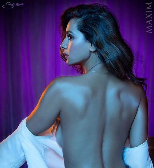 Shibani dandekar Ultra Hot poses for Maxim Photoshoot 2017