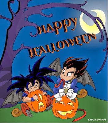 Happy Halloween Dragon Ball Z