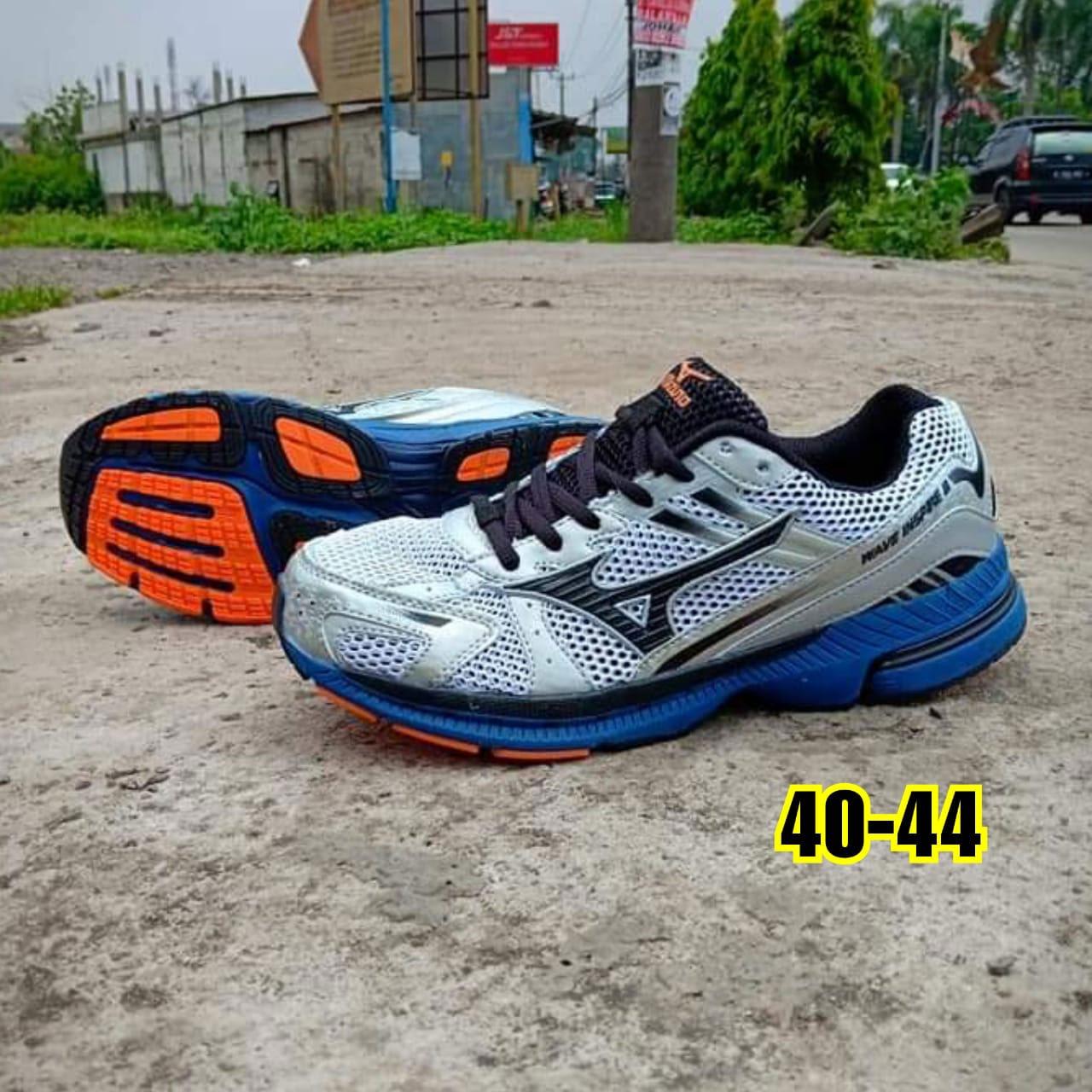 Sepatu Volly Mizuno Wave Inspire II Orange Silver  SVMW-001 ... f6eed6abad