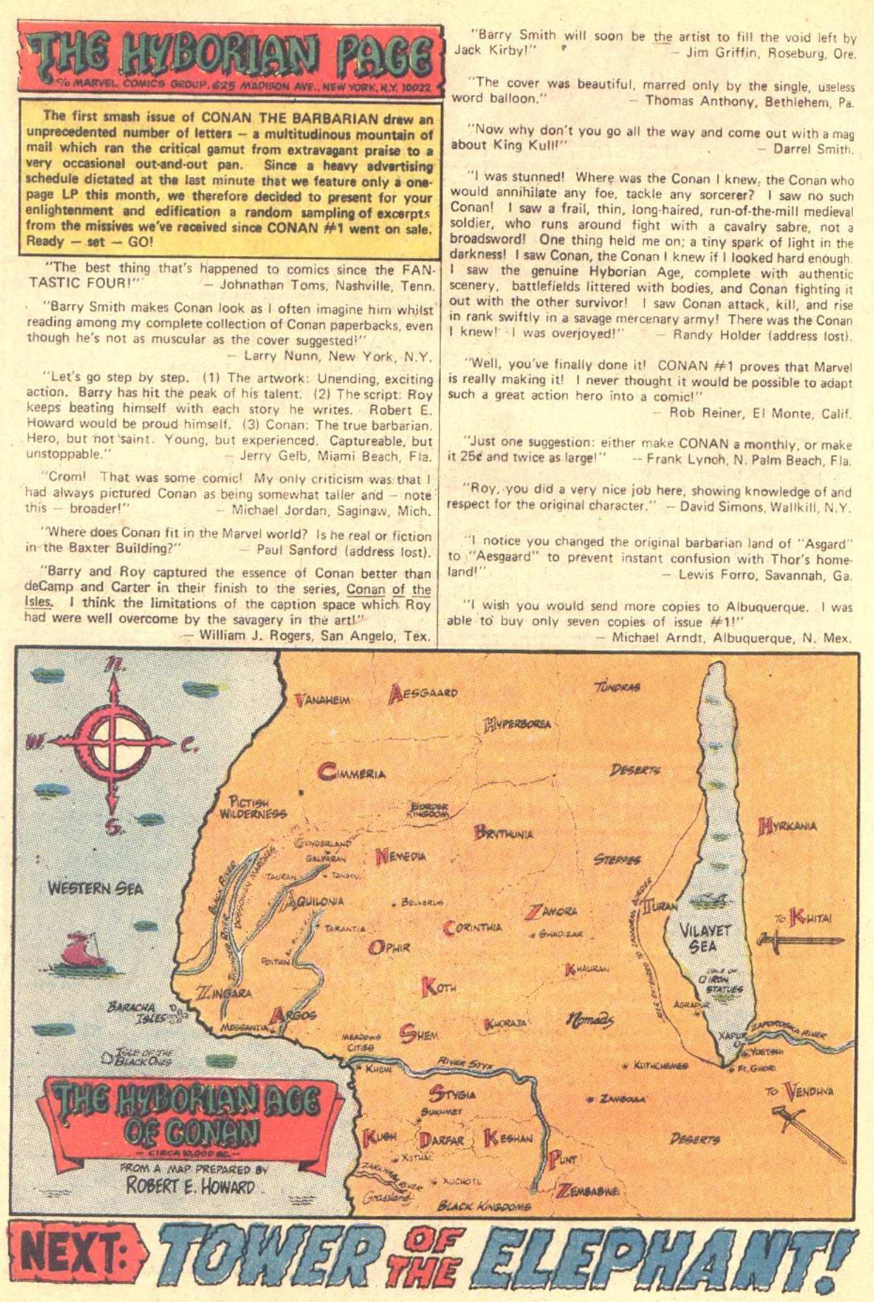 Conan the Barbarian (1970) Issue #3 #15 - English 22