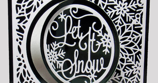 Let It Snow Swing Cards