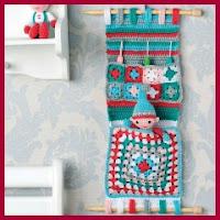 Organizador a crochet