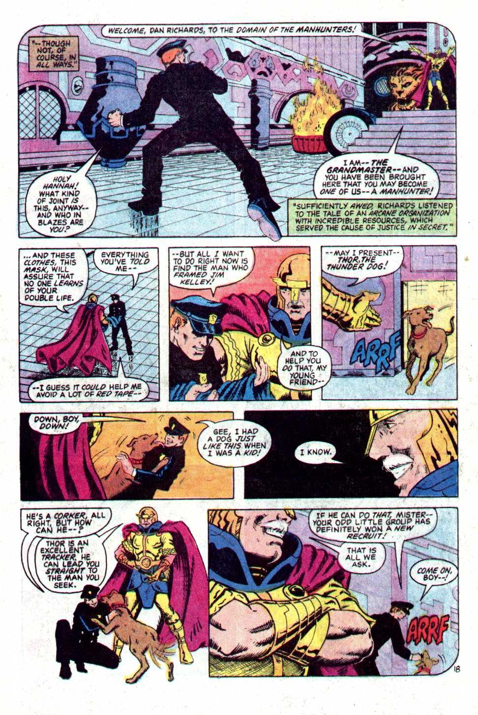 Read online Secret Origins (1986) comic -  Issue #22 - 19