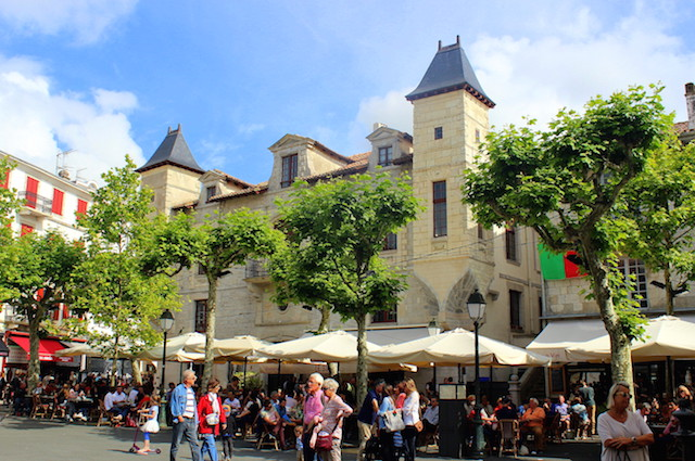Main square, Saint-Jean de Luz, France