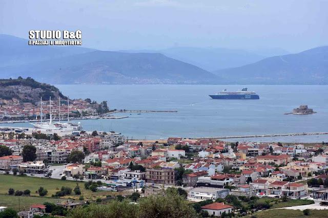 Δυο υπερπολυτελή κρουαζιερόπλοια σήμερα στο Ναύπλιο