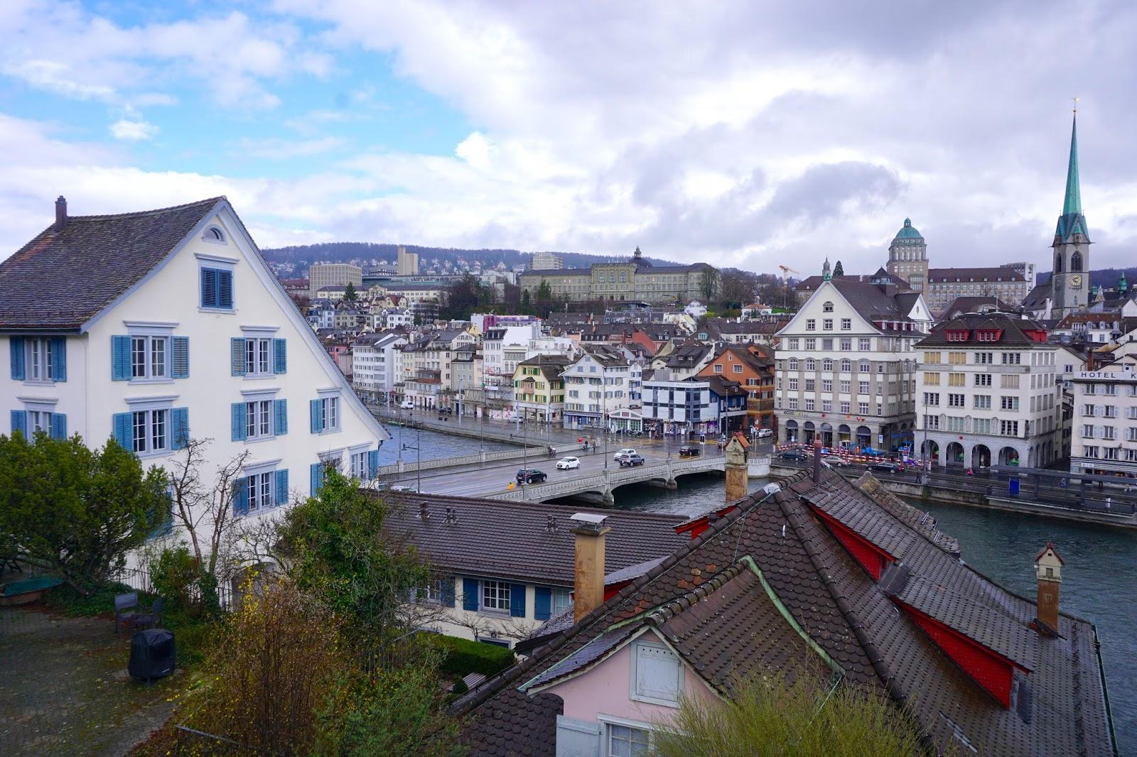 Zurich Lindenhof View