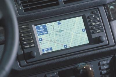 GMC Yukon's navigation system