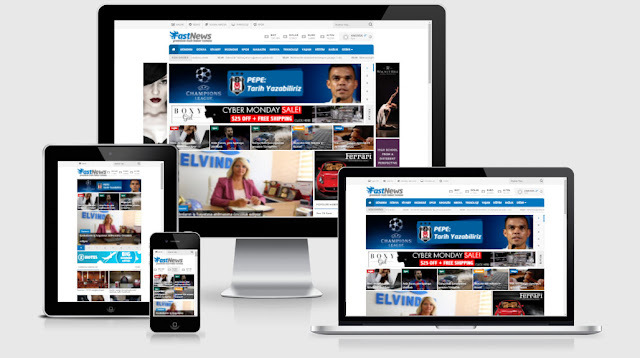 Ayesoft WordPress Haber Temaları: Fastnews