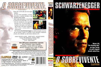 Filme O Sobrevivente DVD Capa