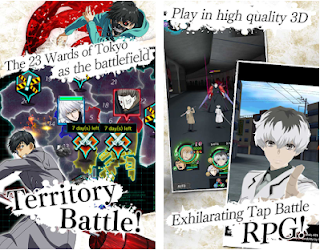 Download Tokyo Ghoul [:re birth] Apk v2.0.6 Free for android