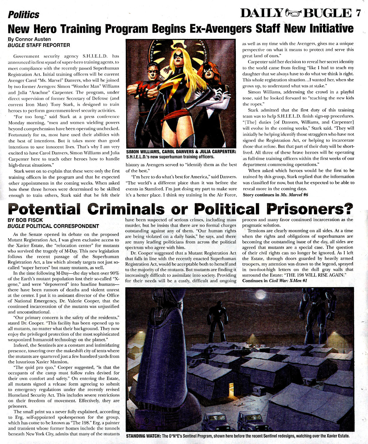 Read online Daily Bugle (2006) comic -  Issue #0 - 7