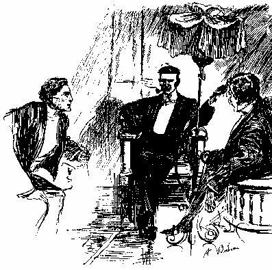 Carnacki Illustration by Florence Briscoe