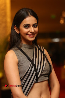 Actress Rakul Preet Singh Pictures at Abhinetri Audio Launch  0012.jpg