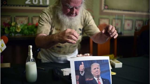Kelompok Penyihir AS Lengserkan Donald Trump dengan Santet
