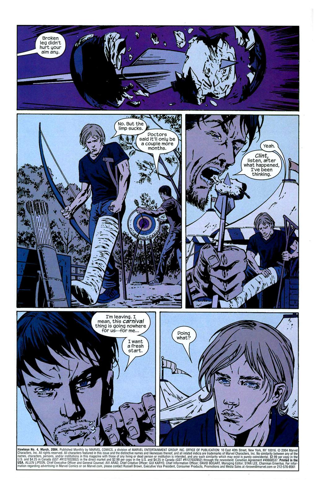 Hawkeye (2003) Issue #4 #4 - English 2