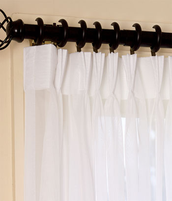 Attractive Curtain Clip Rings Curtains Design