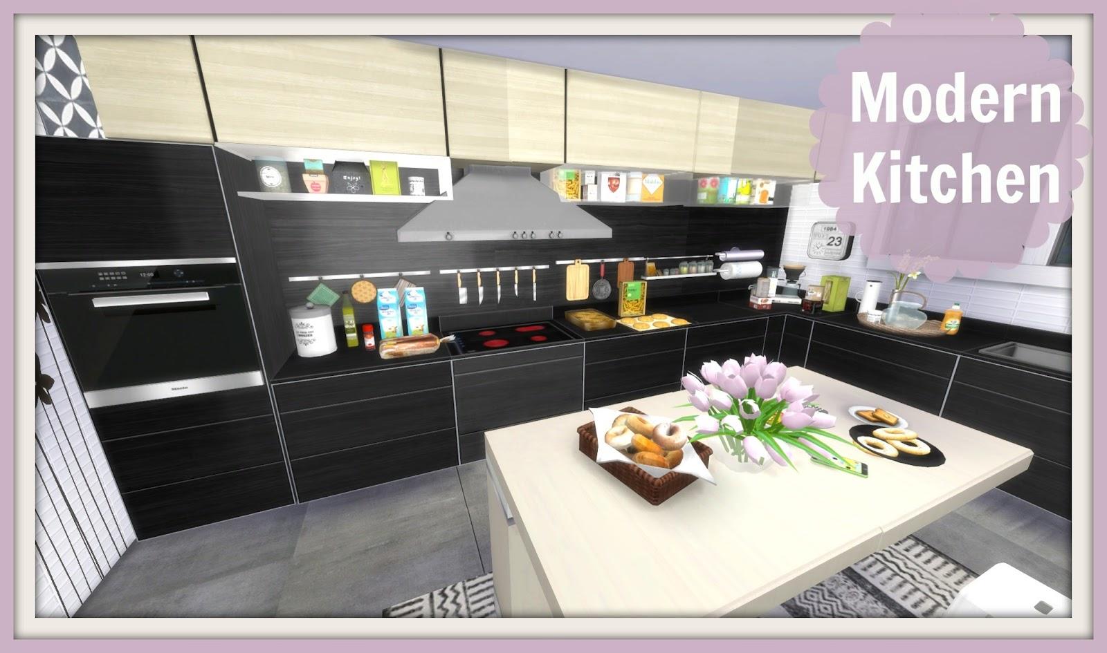 Sims 4 Modern Kitchen Dinha