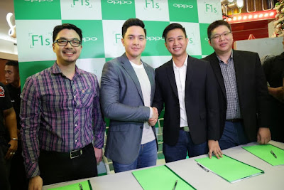 OPPO Unveils Alden Richards As New Endorser, The Face of F1s Limited
