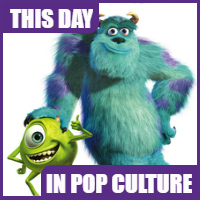 """Monsters Inc"" was released on November 2, 2001."