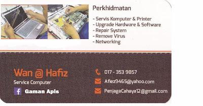 Servis Komputer,Laptop dan printer Kawasan Seremban Negeri Sembilan