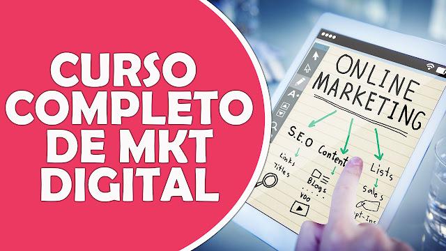[Em Vídeo] Curso De Marketing Digital Completo Grátis Para Iniciantes!!!
