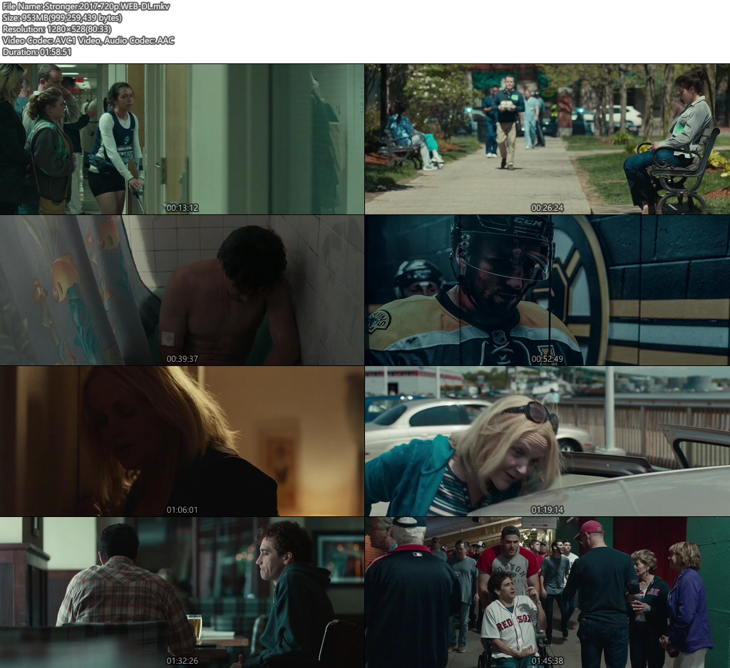 Stronger 2017 720p WEB-DL 950MB Screenshot