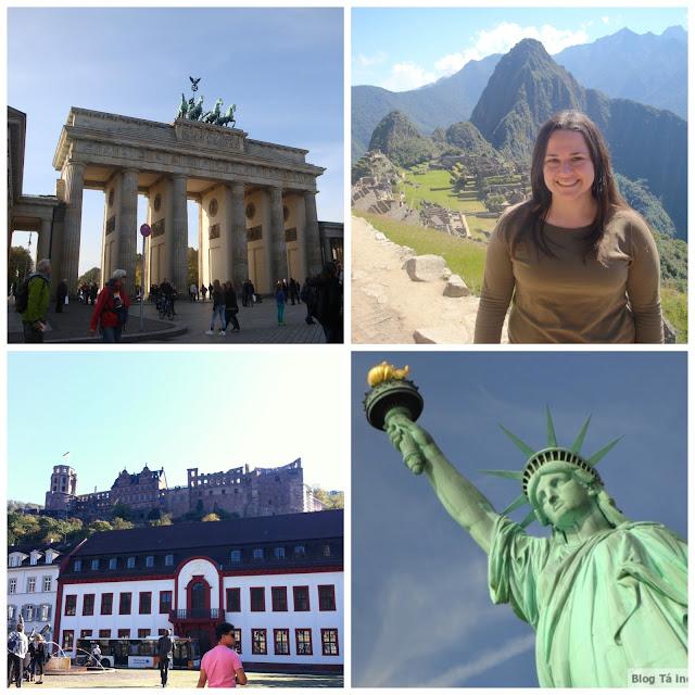 Berlim, Machu Picchu, Estados Unidos e Baden-Württenberg (sul da Alemanha)