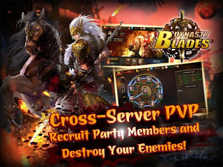 Dynasty Blades: Warriors MMO Apk v2.3.0 Mod (High Damage/Defense)