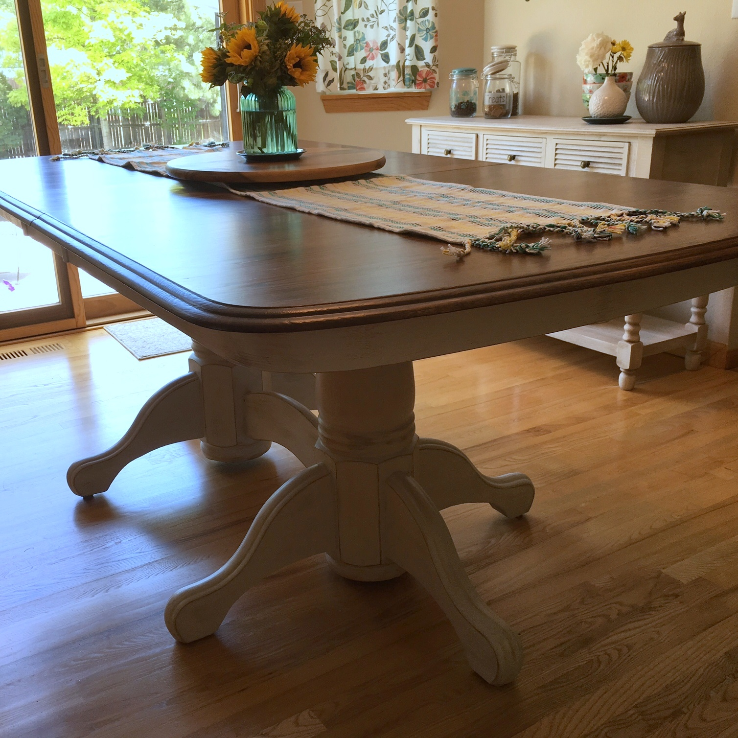 Just another hang up furniture refinishing kitchen table part 4 - Refinishing a kitchen table ...