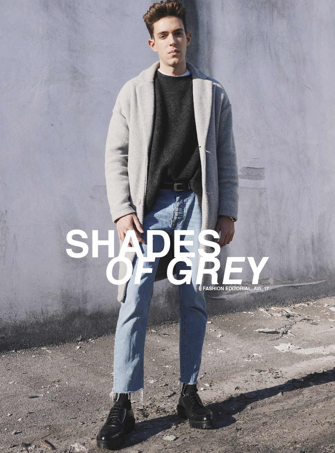 shadesofgrey-greycoat-manteau-gris-pull-knit-western-belt-levis-501-jean-black-rock-shoes-derbies-editorial-fashion-aw17
