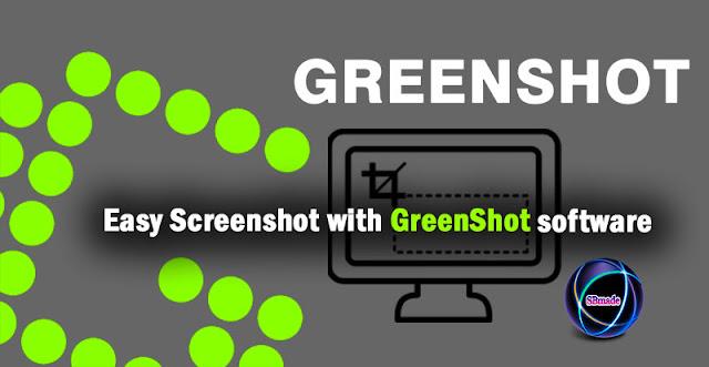 Easy Screenshot with GreenShot software
