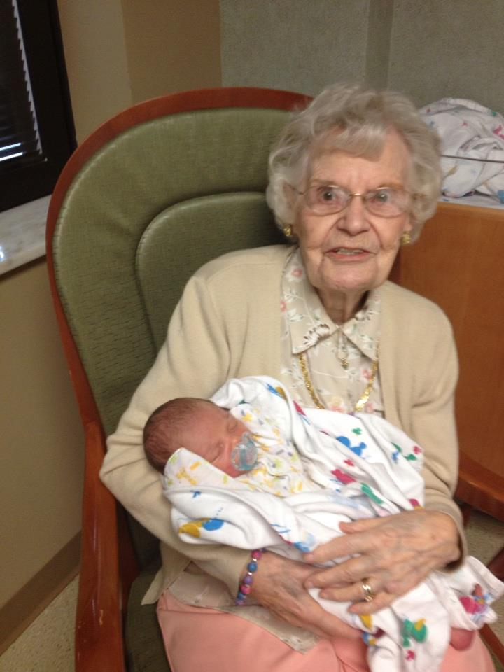 Very very old grandma