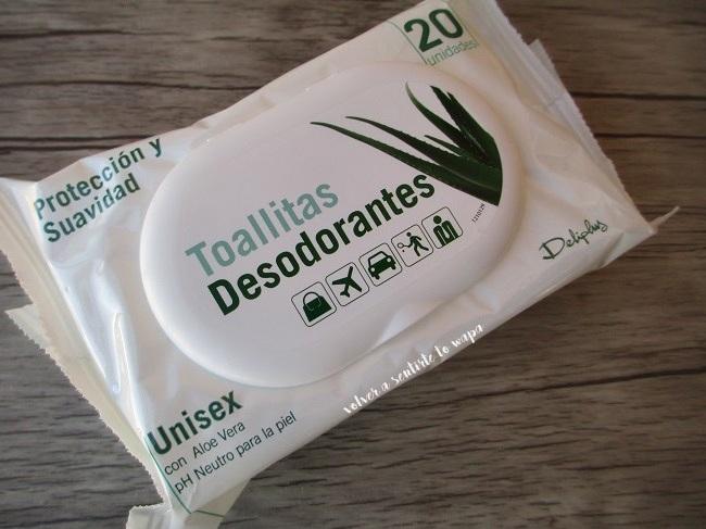Deliplús - Mercadona - Toallitas Desodorantes
