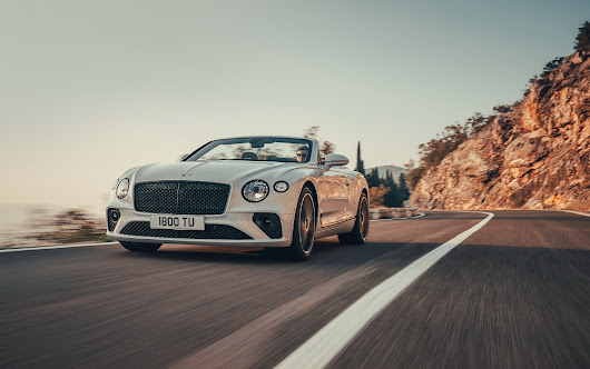 2019 Bentley Continental GT Convertible debuts with 333 km/h top end