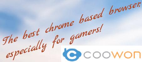 تحميل متصفح الانترنت كوون لتشغيل الالعاب Coowon browser
