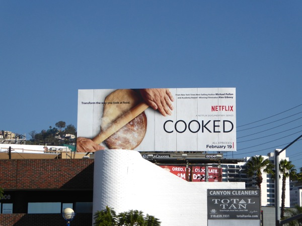 Cooked Netflix series billboard
