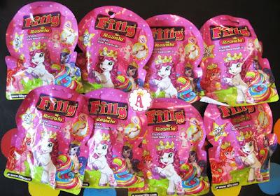 Пакетики с лошадками Filly Royale