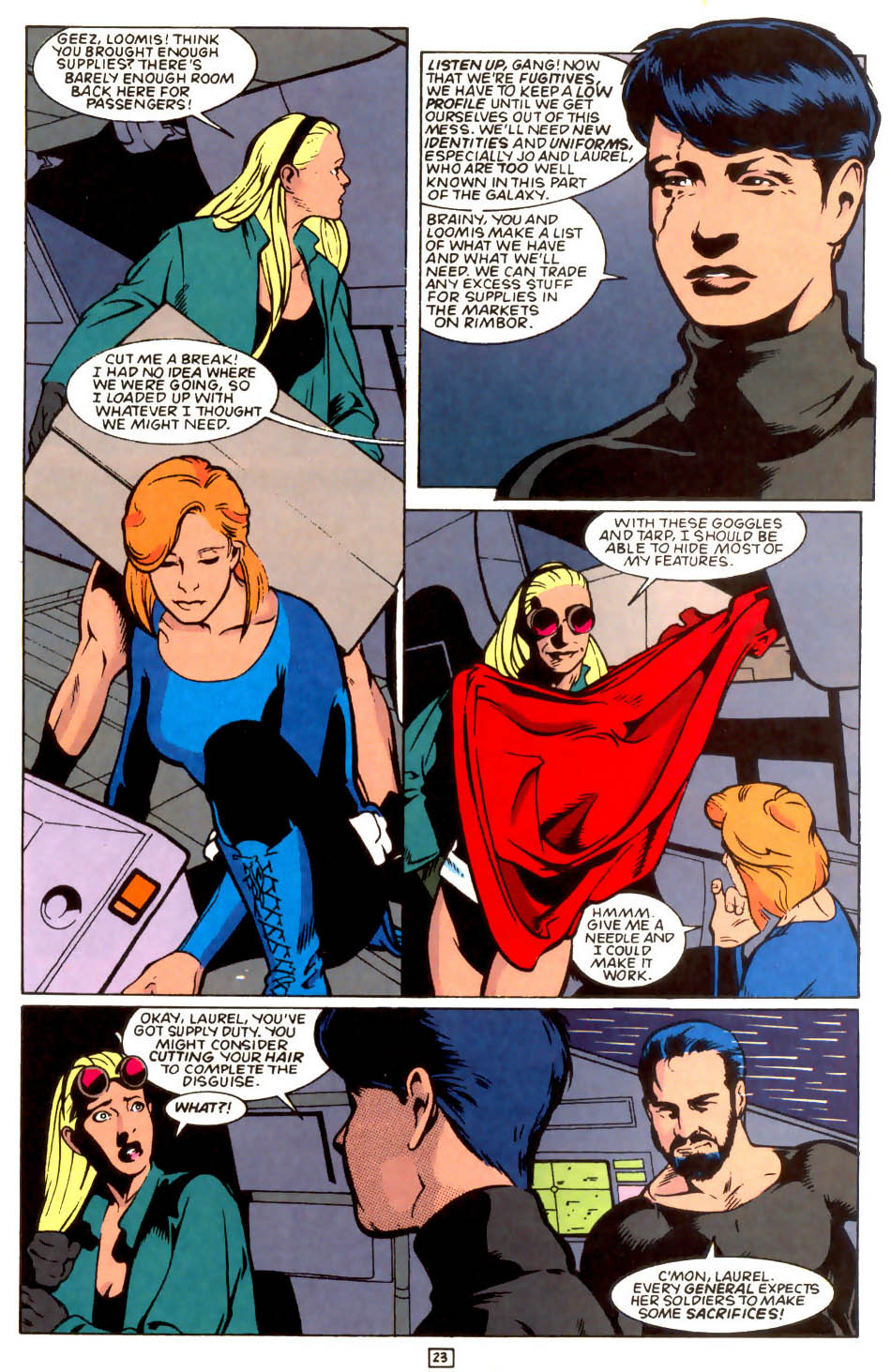 Legion of Super-Heroes (1989) 54 Page 21