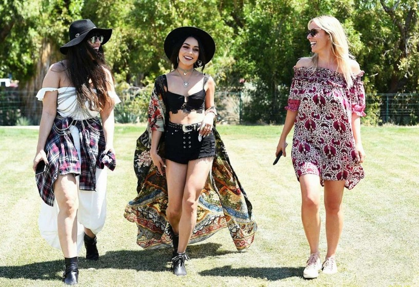 Vanessa Hudgens – 2017 Coachella Music Festival Day 1 in Indio