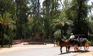 Tedunya Taman Maria Luisa, Sevilla