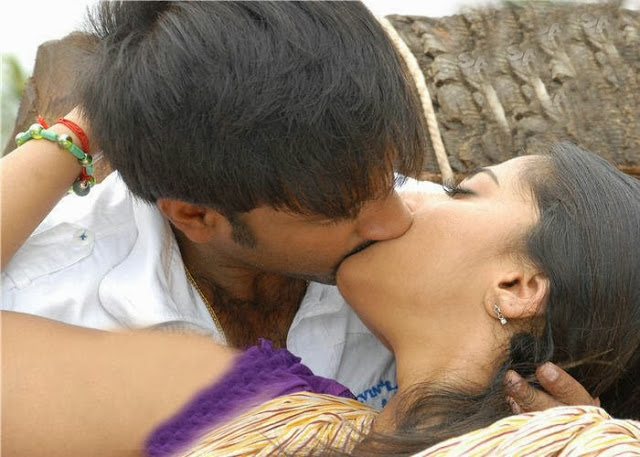 Anushka Shetty Kissing Scene with Gopichand from Telugu Movie Lakshyam