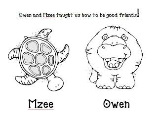 Kindergarten At Heart: Owen and Mzee