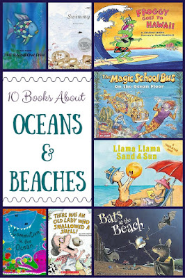 10 favorite picture books to inspire some beach and ocean learning fun!