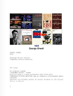 GEORGE ORWELL 1984 free pdf