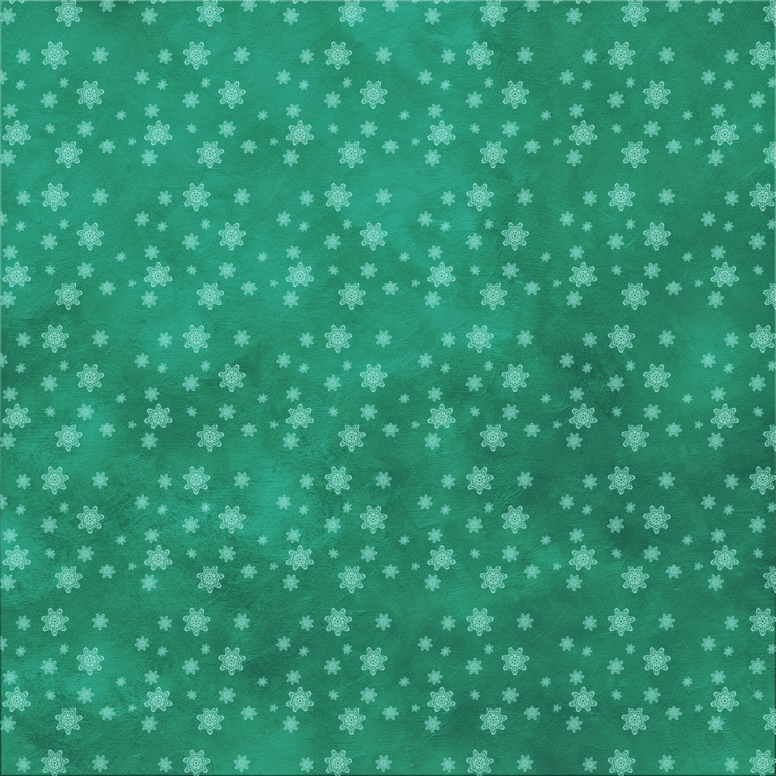 free christmas scrapbook paper high-res teal