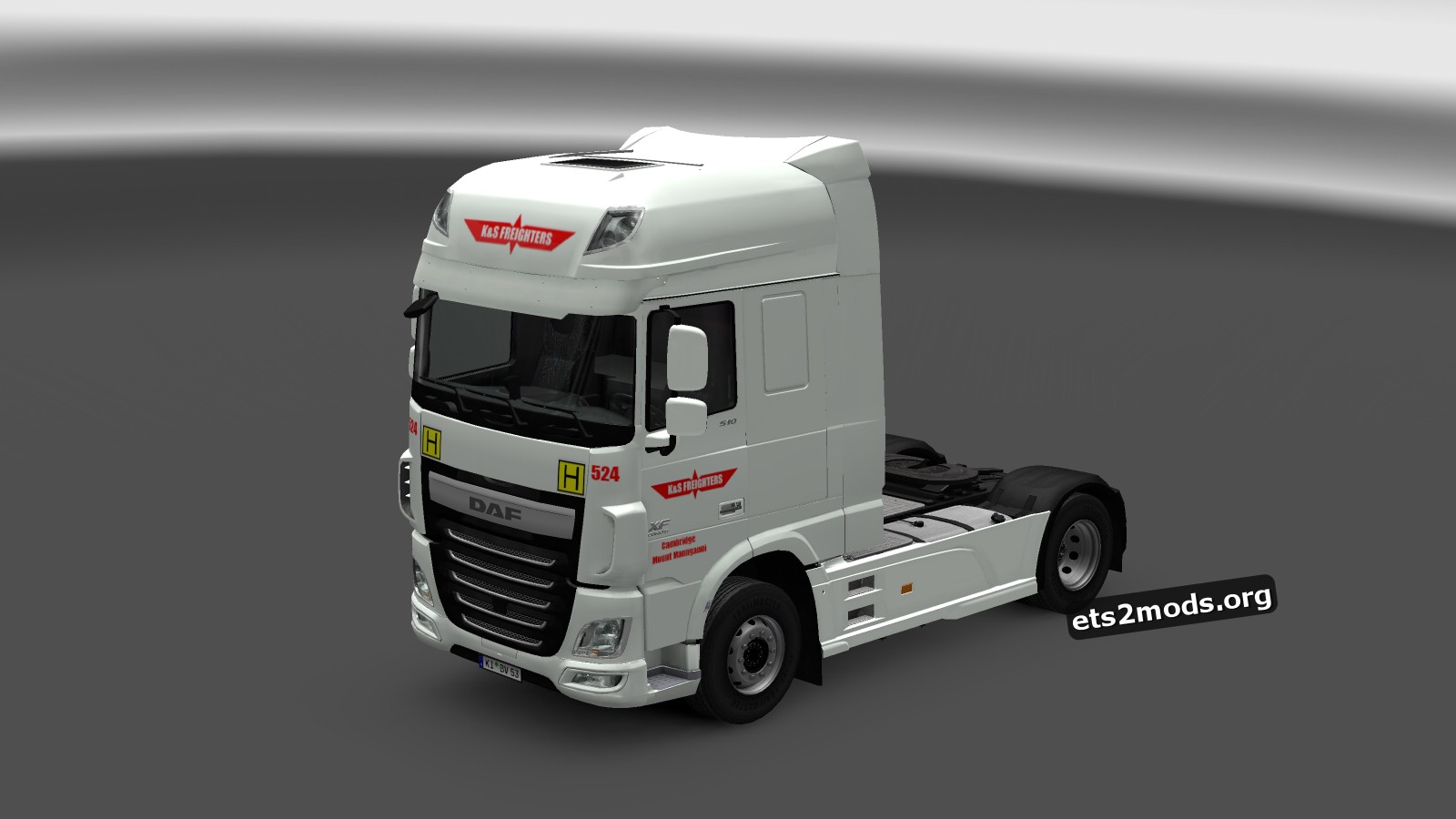 DAF Euro 6 K & S Freighters Skin
